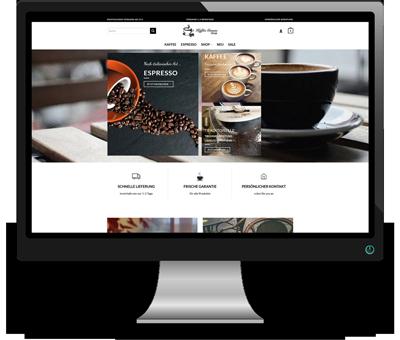 Referenz Kaffegenuss-Shop